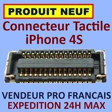 ✖ PRISE CONNECTEUR NAPPE ECRAN TACTILE SUR CARTE MERE IPHONE 4S ✖ EXPEDITION 24H