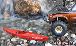 """Gear Head RC 1/10 Scale Miniature """"Wilderness Kayak"""" Kit GEA1144"""