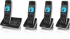 BT 6500 QUAD DIGITAL CORDLESS PHONE + ANSWER MACHINE
