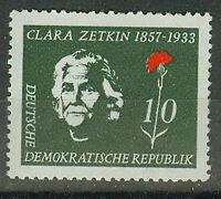 DDR Briefmarken 1957 Clara Zetkin Mi 592 ** postfrisch