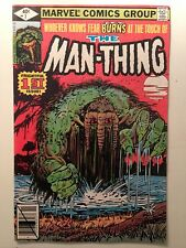 The Man-Thing #1/Bronze Age Marvel Comic/1979 Edition/VF+