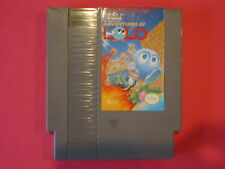 ADVENTURES OF LOLO NINTENDO GAME SYSTEM NES  HQ