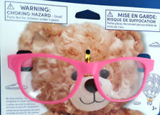 NEW Build-A-Bear FUCHSIA PINK FRAME READING GLASSES Teddy Toy Accessory