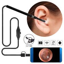 LED USB Ear Cleaning Endoscope HD IP65 Visual Ear Spoon Earpick With Mini Camera