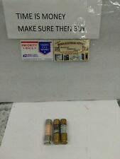 New listing Lot Of 3 Fuses 30 Amp 250 V Time Delay Mix Brands(#Ia)