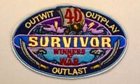 SURVIVOR Logo Embroidered Patch WINNERS AT WAR NEW CBS TV Show Season 40 Iron On