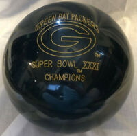 Green Bay Packers Limited Edition SuperBowl XXXI  Collector Bowling Ball