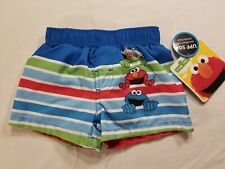 a5d75c508 Pantalones cortos de natación Natación Bebé Niño Talla 3-6 meses 1 par  Sésamo NUEVO