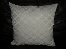 """18"""" x 18"""" CREAM FLORAL CUSHION COVER MADE WITH JOHN LEWIS FABRIC-"""