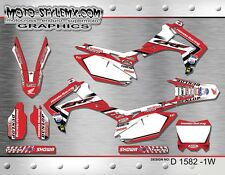 Honda CRf 450R 2013 up to 2016 Moto StyleMX graphics decals kit stickers