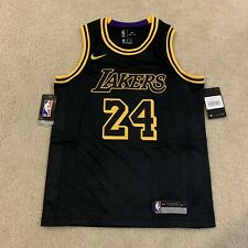 Los Angeles LA Lakers Nike Kobe Bryant Black Mamba Day Size Kids Medium #24 M