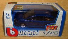 MODELLINO AUTO BURAGO CITROEN C4 BLU METAL 1:43 cod.14429