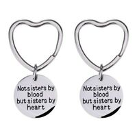 Gifts Good Friends Keychain Not Sisters By Blood But Sisters By Heart Key Chain