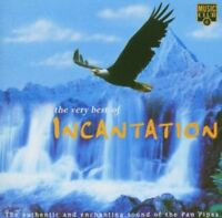 INCANTATION the very best of incantation (CD, album, 1996) panpipes, pan pipes
