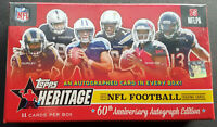 2015 Topps Heritage Football Box NFL Special 60th Annivers 1 Autograph per Box!!