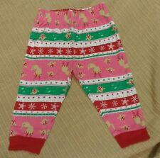 LADYBIRD BABY GIRLS CHRISTMAS TROUSERS PANTS LEGGINGS  3-6 MONTHS. NEW