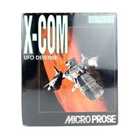 """X-Com UFO Defense Strategy RARE Game 1994 Complete Big Box PC 3.5"""" Disk MSDOS"""