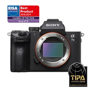 Sony Alpha A7 Mark III CSC Mirrorless Full Frame Digital Camera - Body Only