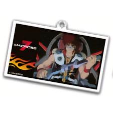 Macross 7 Basara V2 Character Acrylic Dining Key Chain Mascot Anime Art