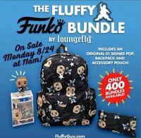 💥The Fluffy Signed Funko POP Bundle by Loungefly Gabriel Iglesias FREE SHIP