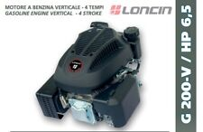 ENGINE LONCIN petrol G 200 V TREE VERTICAL FOR LAWN MOWER 196cc 6.5HP