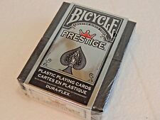 Bicycle Prestige Plastic Playing Cards Pack of 2  Sealed