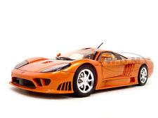 SALEEN S7 ORANGE 1:18 DIECAST MODEL CAR BY MOTORMAX  73117
