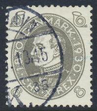 Denmark Scott 212/Afa 188, 8 øre gray Chr. X's Birthday, Vf used, Cds