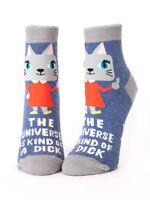 Women's Socks Funny RUDE Hilarious Novelty Amusing Cheeky Gift Present Joke