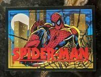 1993 Marvel Comics Franklin Crunch 'n Munch Trading Card - Spider-Man
