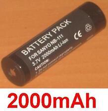 Batterie 2000mAh type NB-111 Pour Kyocera Samurai 2100DG