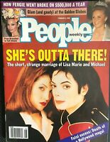 MICHAEL JACKSON'S PERSONALLY OWNED COPY OF HIS 2/5/96 COVER ISSUE OF PEOPLE MAG!