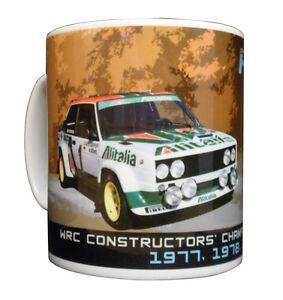Fiat 131 Abarth Rally Car Mug