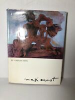 ERNST-about artist Max Ernst Italy 1973 hardcover dust cover Van Gogh Picasso