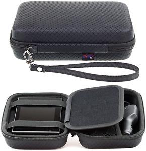 Digicharge Black Hard Carrying Case for Garmin Drive 52 51 50 Drivesmart 55 51 5