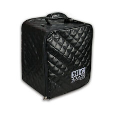 """Milano Collection Premium Large Pro Wig Collapsible Case Box 14"""" Tall in Black"""