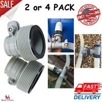 REPLACEMENT HOSE ADAPTER Swimming Pool Filter Pumps Conversion Kit Pack Of 2or4
