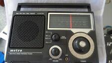 METRO multiple band portable radio