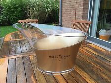 MOET ET CHANDON MAGNIFICENT LARGE ICE BUCKET NEW BOTTLE OF CHAMPAGNE