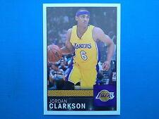 2016-17 Panini NBA Sticker Collection n.333 Jordan Clarkson Los Angeles Lakers