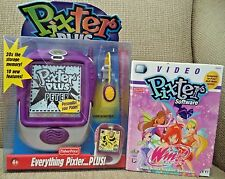 FISHER PRICE PIXTER PLUS FLEXIBLE SCREEN LIGHT Hand-held Creativity W/ WINX CLUB