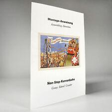 """GÖSO Montage-Anweisung """"Coney Island"""" Kurvenbahn - 50er Jahre - Reprint"""