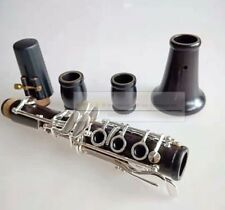 Professional New C key clarinet  wood Ebony material Good material and sound