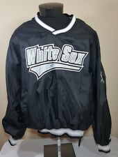 VTG Starter Jacket Windbreaker Chicago White Sox Pullover XL 90's MLB