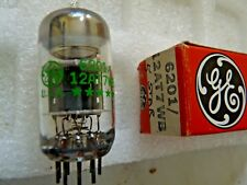 6201 12AT7WB GE Five Star Tube Valve new old stock 1 pc O17