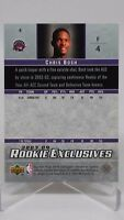 Chris Bosh 2003-2004 03-04 Upper Deck Rookie Exclusives Rookie Card #4
