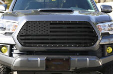 USA Built Grille Replacement AMERICAN FLAG Fits: Toyota Tacoma 2016-2017 SS-USA