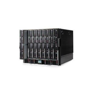 HP BladeSystem c7000 Enclosure w/fans and power + 16×BL460c G6 CTO Server Blades