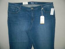 WP7874 Style&co. Women's Plus Slim Leg Core Fashion Jeans NWT Size 22W X 31