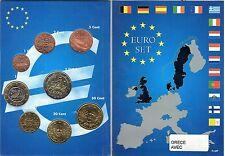 EURO GRECE 2002 SERIE  1 C A  2 € NEUVE AVEC LETTRES
